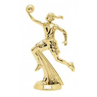 All-Star Basketball Player- Female (Round)